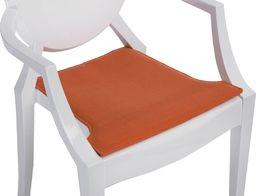 D2 Design Poduszka na krzesło Royal pomarańczowa