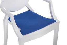 D2 Design Poduszka na krzesło Royal niebieska