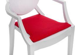 D2 Design Poduszka na krzesło Royal czerwona