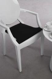D2 Design Poduszka na krzesło Royal czarna