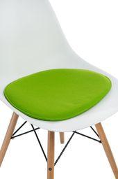 D2 Design Poduszka na krzesło Side Chair jasnozielona