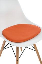 D2 Design Poduszka na krzesło Side Chair pomarańczowa