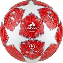 Adidas Piłka nożna Finale 18 Real Madryt CPT czerwona r. 5 (CW4140)