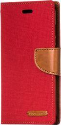 Mercury Goospery Etui Samsung Galaxy Note 8 N950 Mercury Goospery Canvas Diary pokrowiec z funkcją podstawki czerwony