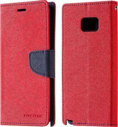Mercury Goospery Kabura etui na Samsung Galaxy Note 7 FE Fan Edition Mercury Goospery Fancy Series czerwone granatowe