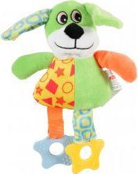 Zolux Zabawka pluszowa Puppy Pies zielony 20x7,5x22,5 cm