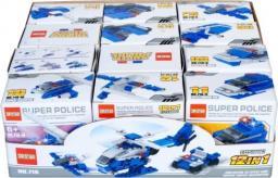 Mega Creative Klocki konstrukcyjne Policja (719)