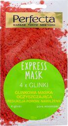 Perfecta Perfecta Express Mask Glinkowa Maska oczyszczająca 4 Glinki 8ml