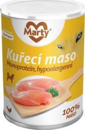 MARTYPET Karma mokra dla psa Monoprotein kurczak 400g