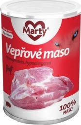 MARTYPET Karma mokra dla psa Monoprotein wieprzowina 400g