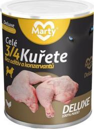 MARTYPET Karma mokra dla psa Deluxe 3/4 kawałki kurczaka 400g