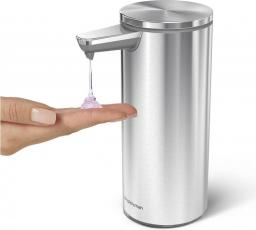 Dozownik do mydła Simplehuman łazienkowy stal nierdzewna (ST1043)