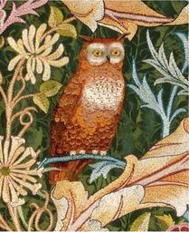 Museums & Galleries Karnet Detail from the owl wall hanging