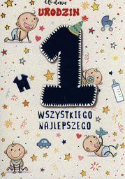 PASSION CARDS Karnet Roczek dla chłopca PR-017