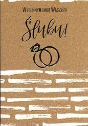 PASSION CARDS Karnet W pięknym dniu Waszego ślubu PR-088