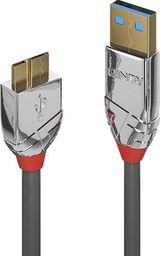 Kabel USB Lindy 3.0 typ A - Micro B Cromo Line