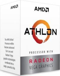 Procesor AMD Athlon 200GE (3.2GHz,5MB,35W,AM4) BOX with Radeon Vega Graphics (YD200GC6FBBOX)