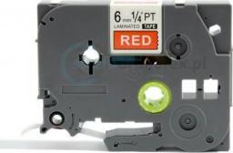 Strefa Drukarek Brother tze-415 czerwona/biały nadruk 6mm x 8m zamiennik