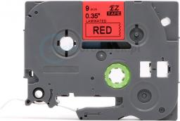 Strefa Drukarek Brother flexi tze-fx421 czerwona/czarny nadruk 9mm x 8m zamiennik