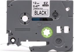 Strefa Drukarek Brother TZe-335 czarna/biały 12mm x 8m nadruk zamiennik