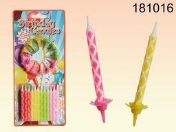 Kemis Zestaw świeczek urodzinowych 24 szt. (090.181016)