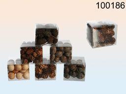 Kemis Suszone dekoracje roślinne Potpourri brązowe (090.100186)