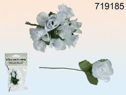 Kemis Różyczki dekoracyjne białe (090.719185)
