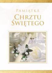 Diecezjalne Pamiątka Chrztu Świętego  - biała (mała)