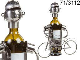 Kemis Stojak na wino rowerzysta