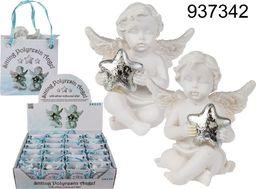 Kemis Malutki aniołek ze srebrną gwiazdą w torebeczce prezentowej