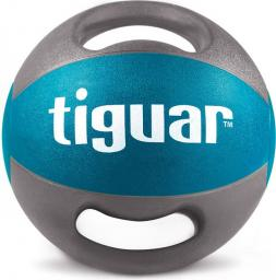 Tiguar Piłka lekarska z uchwytami niebieska 6 kg (TI-PLU006)