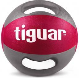 Tiguar Piłka lekarska z uchwytami różowa 9 kg (TI-PLU009)