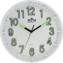 MPM Zegar ścienny E01.3231.00 fi 30 cm Lume Sweep