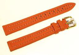 Hirsch Skórzano-materiałowy WR 100M pasek do zegarka 16 mm HIRSCH Active 18709522-1-16