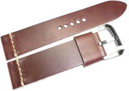 JVD Skórzany pasek do zegarka 22 mm JVD R19703-22