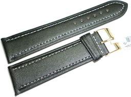 JVD Skórzany pasek do zegarka 24 mm JVD R14201-24P-G