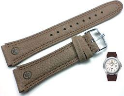 Timex Pasek do zegarka Timex T44381 P44381 20 mm Skóra