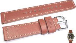 Timex Pasek do zegarka Timex TW2P84000 PW2P84000 20 mm Skóra