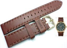 Timex Pasek do zegarka Timex TW2P58900 PW2P58900 20 mm Skóra