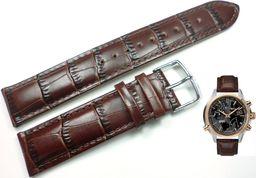 Timex Pasek do zegarka Timex T2N942 P2N942 20 mm Skóra