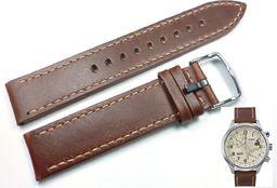 Timex Pasek do zegarka Timex T2N932 P2N932 20 mm Skóra