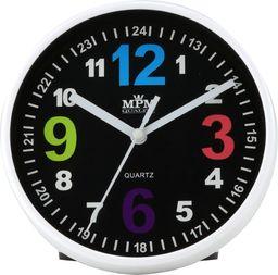 MPM Zegar ścienny / stołowy MPM E01.3685.90 fi 15 cm Kolorowy