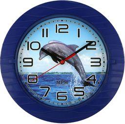 MPM Zegar ścienny MPM E01.3687.30 średnica 22 cm Delfin