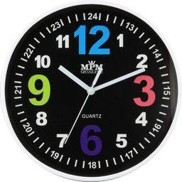 MPM Zegar ścienny MPM E01.3686.90 fi 20 cm Kolorowy