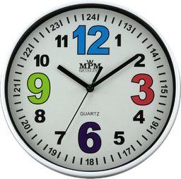 MPM Zegar ścienny MPM E01.3686.00 fi 20 cm Kolorowy