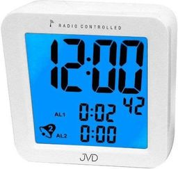 JVD Budzik JVD RB26 Dwa alarmy, DCF77