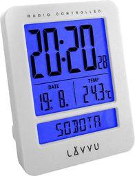 Lavvu Budzik LAVVU LAR0020 Termometr DCF77 Dni Tygodnia PL