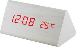MPM Budzik MPM C02.3570.00 red led, termometr, 3 alarmy