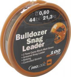 Prologic Bulldozer Snag Leader 100m 24lbs 11.0kg 0.40mm Camo (44685)