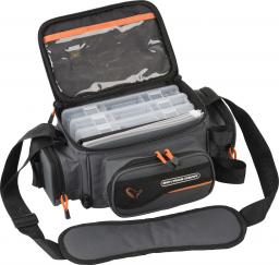 Savage Gear System Box Bag S 3 Boxes & PP Bags (15x36x23cm) (54775)